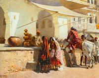 A Street Market Scene  - WEL-004