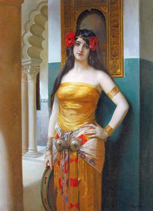 An Arab Beauty resim