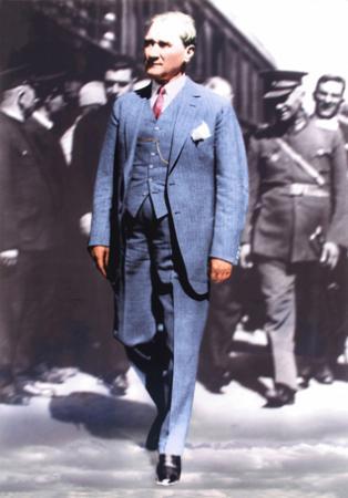 Atatürk Kanvas Tablo - 02 resim
