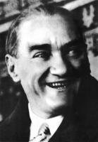 Atatürk Resmi Siyah Beyaz - ATA-C-142