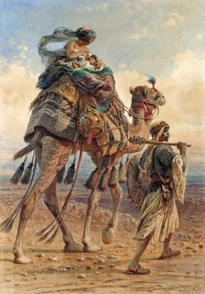 Crossing the Desert resim