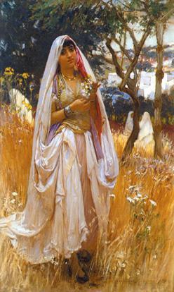 Moorish Girl resim