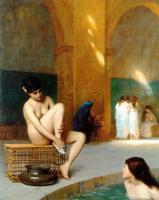 Nude Women Bathing - GJL-011