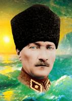 Renkli Atatürk Portresi - ATA-C-008