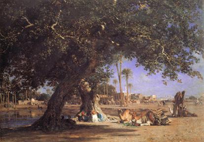 View of Shubra resim