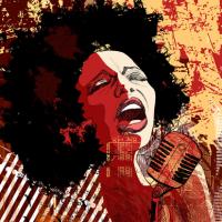 Caz Söyleyen Kadın - IMB-196