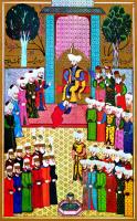 II. Murat'ın Bursa'da Cülüsü - NKO-009