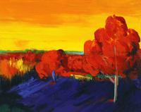 Kırmızı Ağaçlar - ART-006