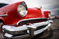 Kırmızı Klasik Araba - IMB-161