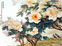 Kuşlar ve Çiçekler - UZD-114