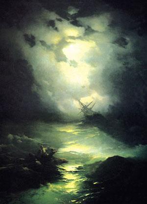 Kuzey Deniz'inde Fırtına  resim