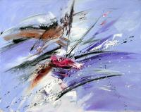 Mavi Soyut Kompozisyon - ART-012