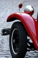 Prag'da Klasik Araba - IMB-171