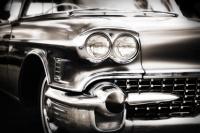 Siyah Beyaz Araba Tablosu - IMB-157