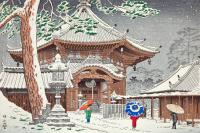 Snow in Nan Endo Temple - HKA-004