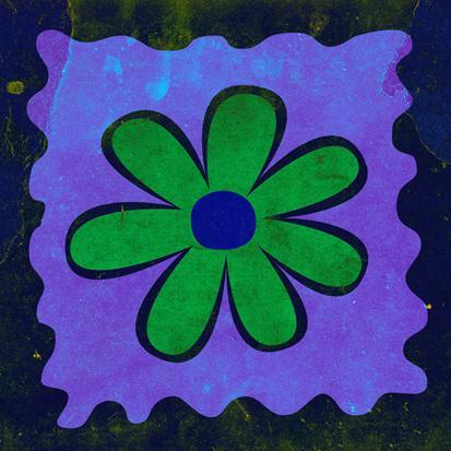 Soyut Çiçek Tablosu  resim