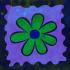 Soyut Çiçek Tablosu  k0