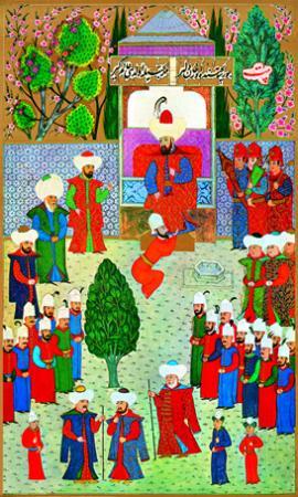 Sultan Orhan'ın Cülüsü resim