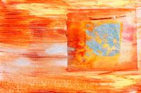 Turuncu Modern Tablo - ART-032