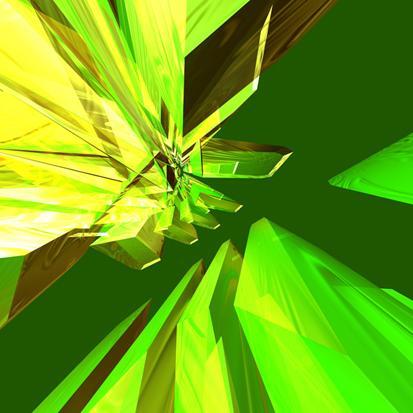Yeşil Kristal resim
