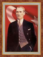 Çerçeveli Atatürk Portreleri