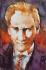 Sulu Boya Atatürk Portre k0