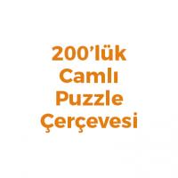 200 Parça Puzzle Çerçevesi