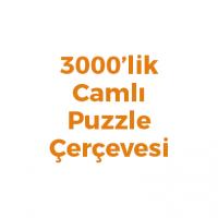 3000 Parça Puzzle Çerçevesi