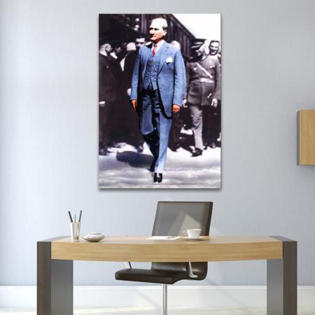 Atatürk Kanvas Tablo - 02 resim2