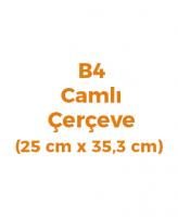 B4 Belge Çerçeveleri