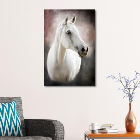 Beyaz At resim2