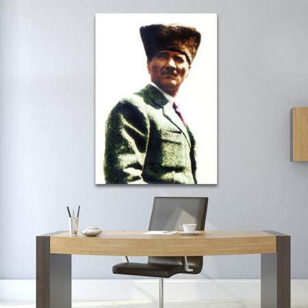 Kalpaklı Atatürk resim2