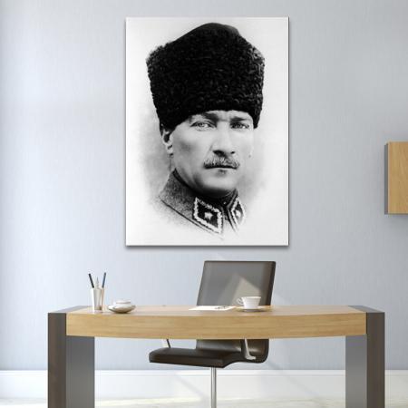 Karakalem Atatürk Portresi resim2