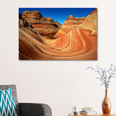 The Wave at Coyote Buttes resim2