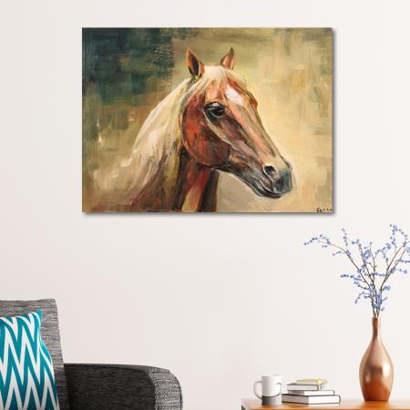 Yağlıboya At resim2