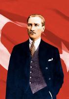 Atatürk ve Bayrak - ATA-C-144