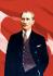Atatürk ve Bayrak k0