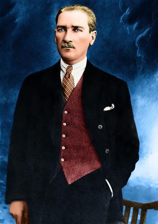 Boydan Atatürk Tablosu resim