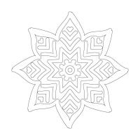 Çiçek Desenli Boyanabilir Tablo - CM-038
