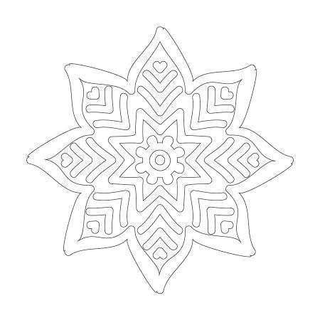 Çiçek Desenli Boyanabilir Tablo resim