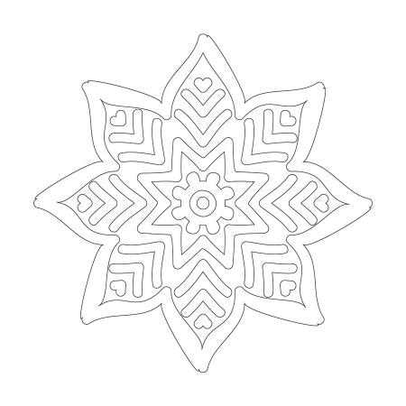 Çiçek Desenli Boyanabilir Tablo 0