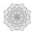 Çiçek Desenli Mandala Tablosu k0