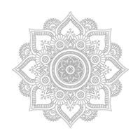 Çiçek Desenli Mandala Tablosu - CM-011