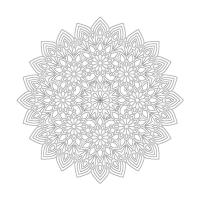 Çiçek Desenli Mandala Tablosu - CM-055
