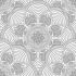 Floral Desenli Mandala Tablosu k0