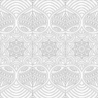 Floral Desenli Mandala Tablosu - CM-032
