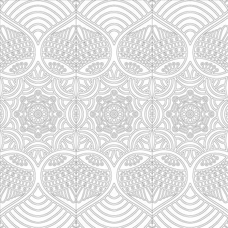 Floral Desenli Mandala Tablosu 0