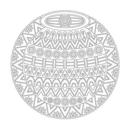 Geometrik Boyama Tablo resim