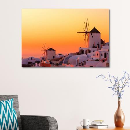 Greek Islands Sunset resim2