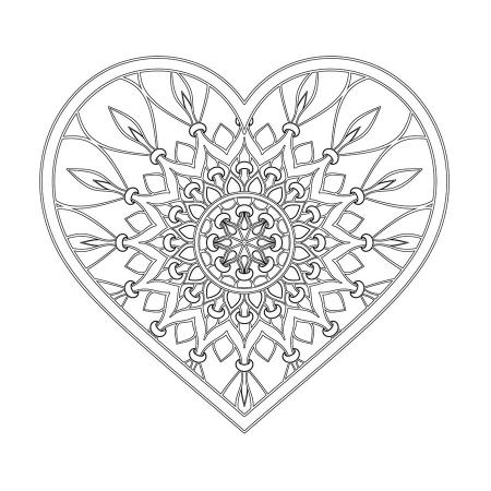 Kalp Desenli Boyanabilir Tablo 0